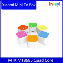Original For XiaoMi Mi TV Box WiFi Bluetooth 4.0 4K Single Connection Android 4.4 Quad Core Mini Smart H.265 Decoder Player HTPC