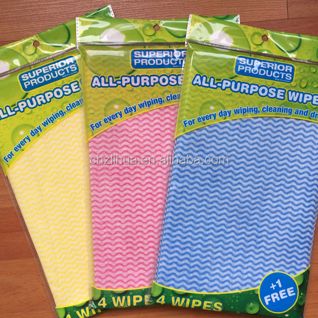 Biodegradable Cleaning Wipes for Household Care