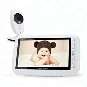 7inch 4 Lullabies Temperature Monitor Baby Phone Camera Video Baby Monitor