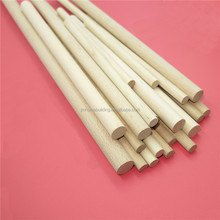 High quality Different size of poplar wood dowel for furniture parts Manufacturer