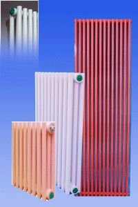 steel 2 column radiator