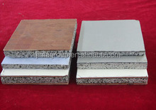 Aluminum foam composite panels for soundproofed Screen/Soundproof cover