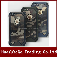 2 in 1 Heavy Duty Shockproof Camouflage Skin phone case cover for Apple iphone 6 6s Plus