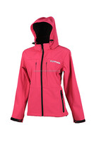 2016 hot sale high quality waterproof outdoor oem sportswear berry softshell jacket breathable women motorcycle
