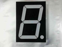 Super red 0.36 inch one digit 7 seven segment led display