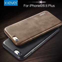 New products vintage phone case for iphone 6, pu leather pc plastic cell phone case