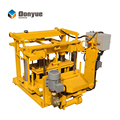 portable concrete block machine,small scale brick factory,small scale brick plant QT40-3A