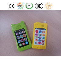 Wholesale custom kids toys for musical mobile phone with sound effect