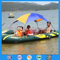 promotional inflatale boat with your logo
