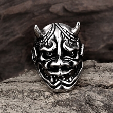 Unique Punk Fashion Moster Spikes Stainless Steel Jewelry Finger Rings