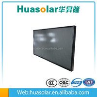 glazed flat plate sun solar collector in china