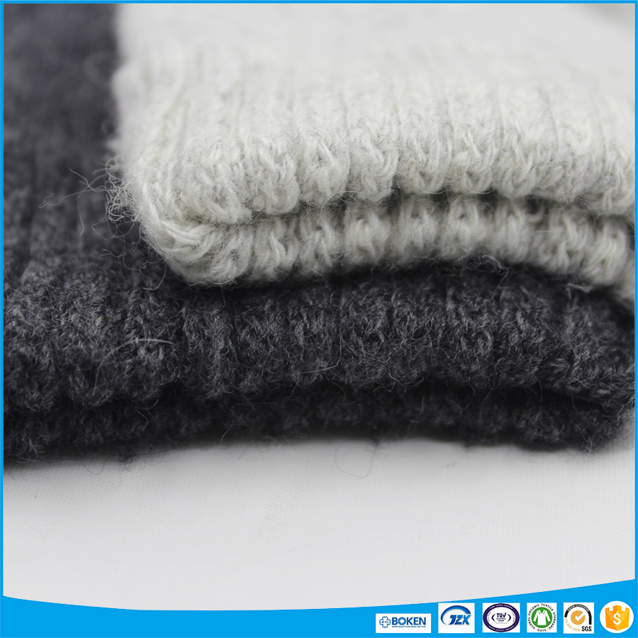 10% cashmere 65% wool blended soft and hairy yarn