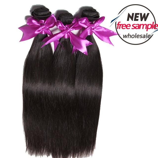 accept paypal cheap price silky straight wholesale brazilian hair weave bundles