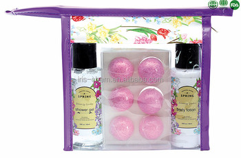 Bath Spa Gift Set Wholesale bath and body works product with best Smelling Shower Gel For Women