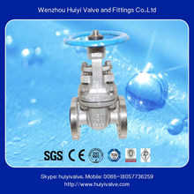 Stainless steel 304 a126b long stem gear box gate valve