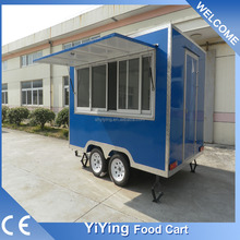 FS400C Yiying factory made brand mexican motorcycle hand push food cart for sale