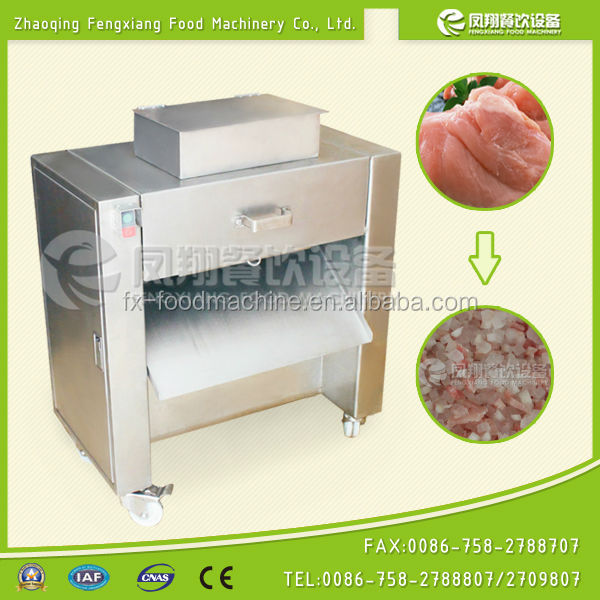 FC-300 chicken dicing machine, chicken dicer, chicken cube dicer