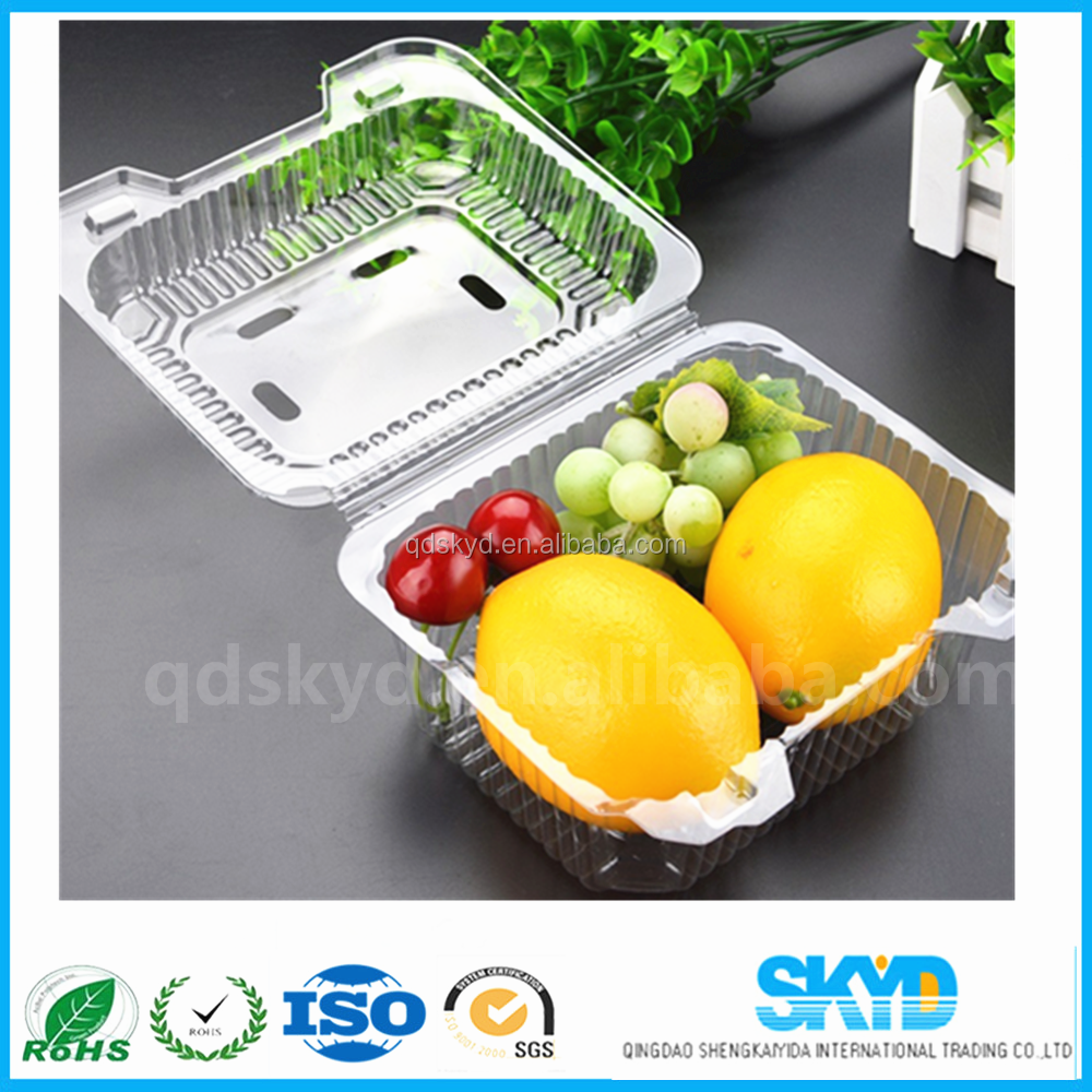 plastic fruit packaging tray polystyrene foam tray