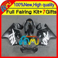 7gifts Flat black For HONDA CBR600F4 99-00 Fairings CBR 600F4 21CL22 Matte black CBR600 F4 CBR 600 F4 99 00 1999 2000 Fairing