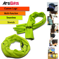 high quality cheap tube seamless scarf with customized logo