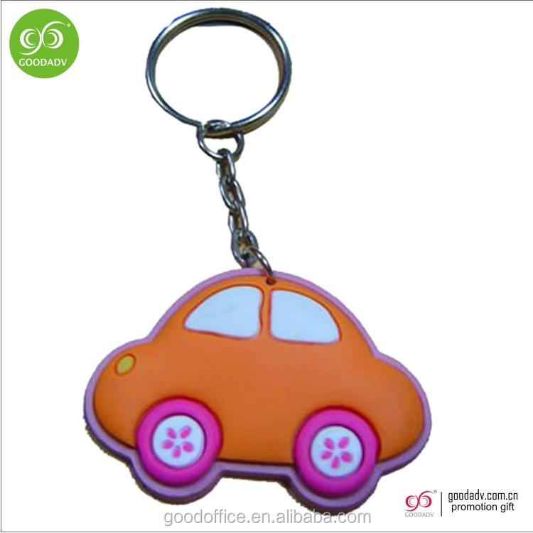 Factory manufacture PVC keychain Motor keychain