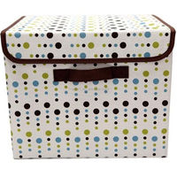 TNT High Profit Dot printed Felt home storage box