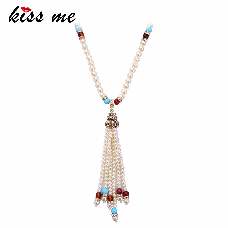 Thailand Bride Latest 2016 Accessories Wedding Pearl Beads Necklace Jewelries