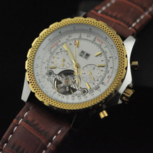 2014 hot sale water resistant automatic movement skeleton watch winner