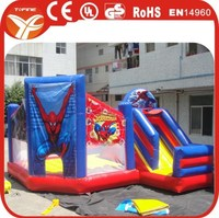 2015 inflatable spider man bouncy castle