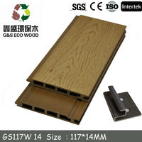 anti-uv decorative hdpe wood wall panel for exterior wall cladding