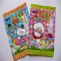 Compound Plastic Bag For Food Packaging , Patch Handle Plastic Food Bag