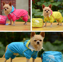 Hot Outdoor pet accessori wholesale plain dog t-shirts raincoat Guangzhou dog clothes