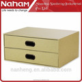 NAHAM elegant paper sundries storage Drawer office Documents Cabinet