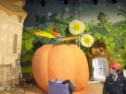 SJWS2014070108 fairy tale world landscaping decoration artificial pumpkin fruits