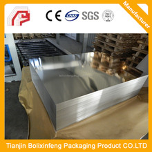 Easy open end, tin free steel, tin can for soda packing