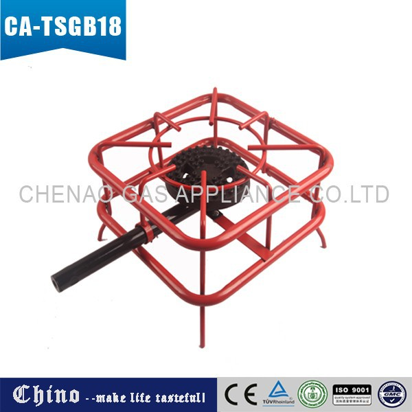 HOT SALE! 100% FACTORY PRICE!LPG CAST IRON BURNER PORTABLE GAS COOKER STOVE CA-TSBG18