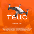 Original DJI Tello with Full HD 720P Camera and long flight times