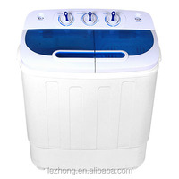 3.6kg portable mini twin tub washing machine