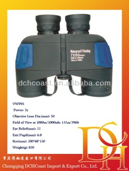 View mini paper binoculars 7x50 for children