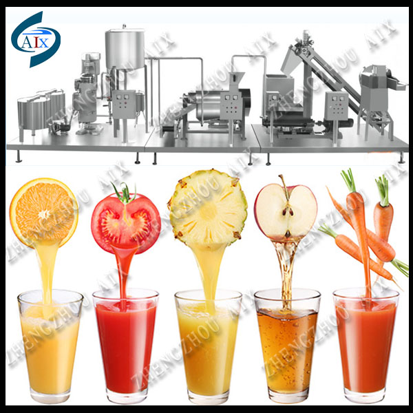 Small capacity apple juice machine/apple juice making line for sale