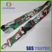 camouflage heat transfer lanyards