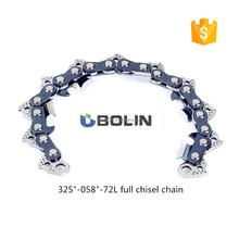 "18""-325""-72DL full chisel chain fit for 5200 chainsaw in best quality"
