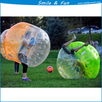 Ice funny sport inflatable human bumper ball