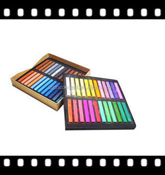 Colorful hair dye chalk temporary bright color chalk