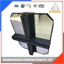 aluminium extrusion profile for curtain walls frames