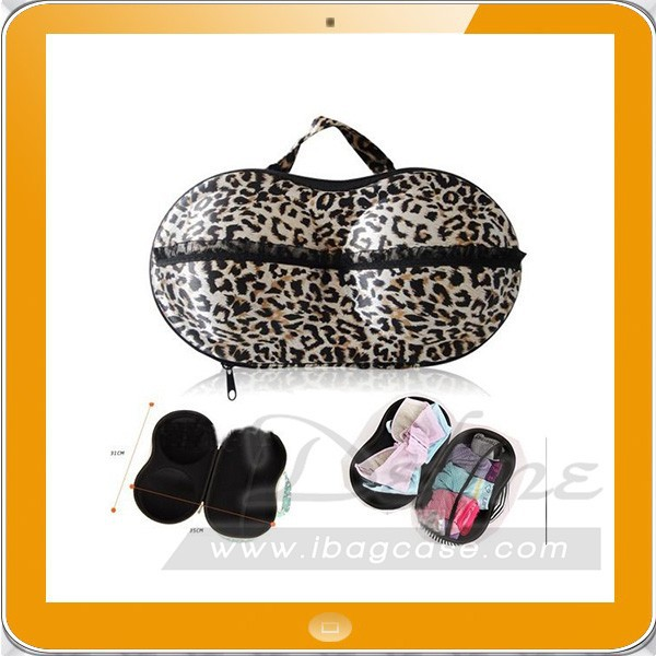 Underwear storage box covered bra box panties socks travel portable bra bag