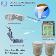 Supply liquid rtv silicone rubber for shoe soles mold