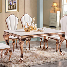 Dubai Cheap Dining Table And 6 Chairs CT-801 Y-622