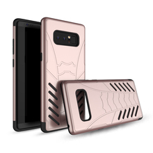 Wholesale dustproof durable cell phone accessories for Samsung Note 8 case