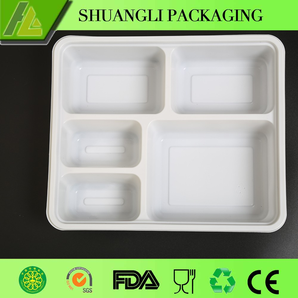 2016 new design disposable pp plastic container for food